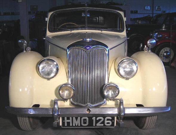 1952 riley 1.5 f