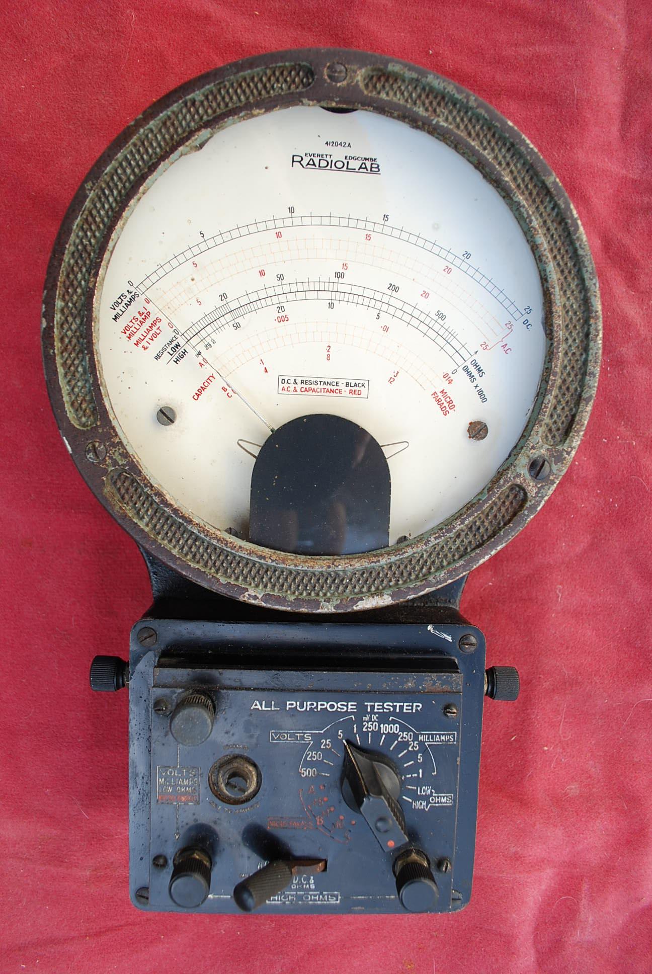 Radiolab Multimeter