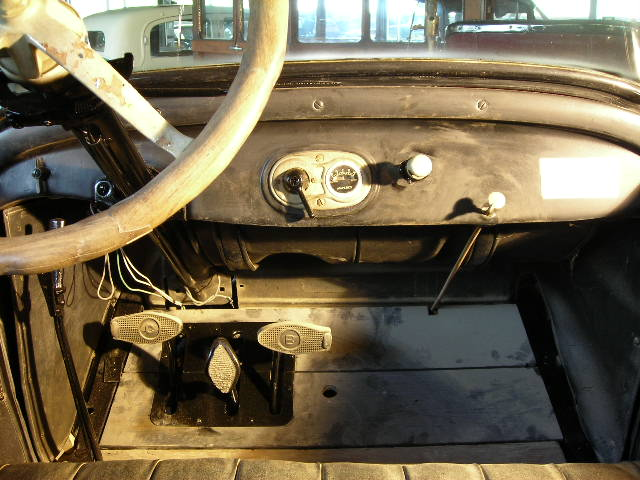 ford t dashboard