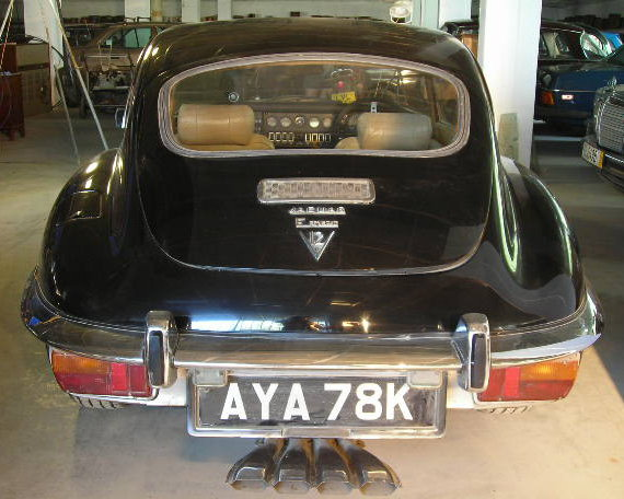 jaguar e type back