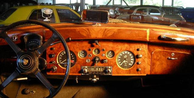 jaguar mk9 1961 dashboard