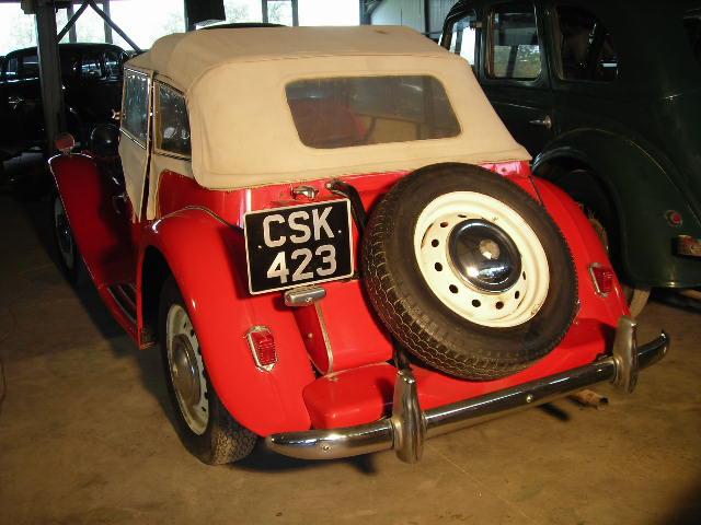 mg td 1952 back