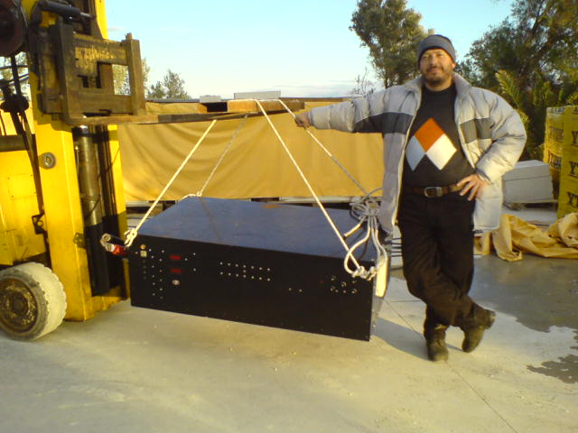mike. the proud manufacturer of an indistractible 15 kw inverter