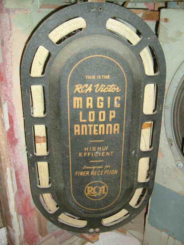 rca 19k magic loop antenna