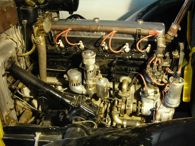 rr 2025 1931 left engine