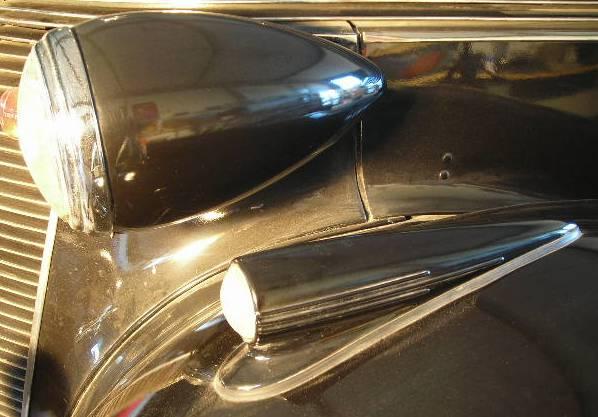 studebaker front lights 70