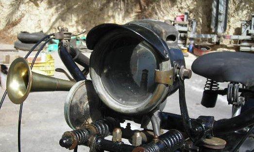 velocette frontlight