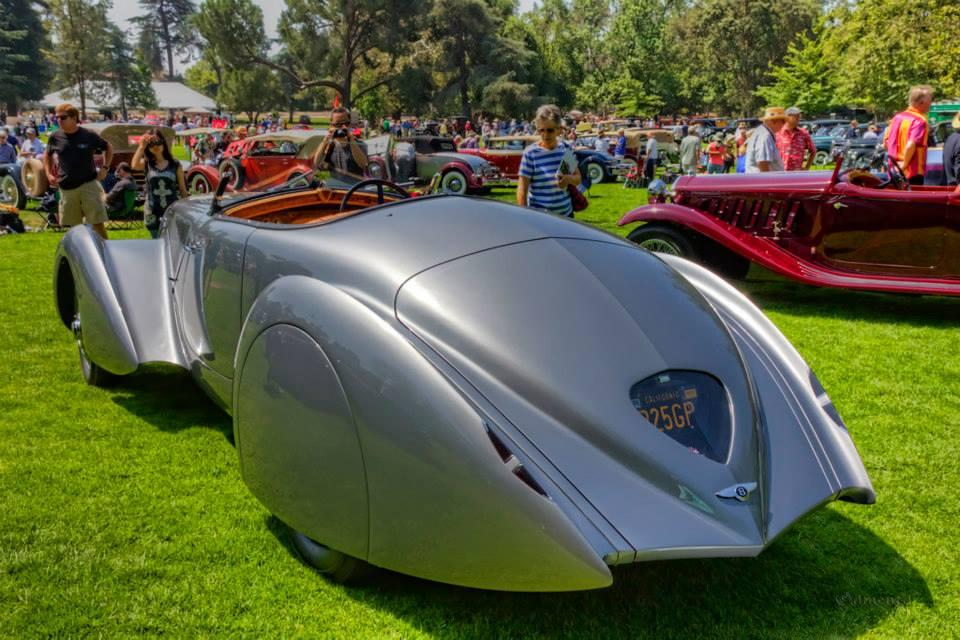 1936 Bentley 4 1 4 Litre Derby 'Embiricos' Roadsterb