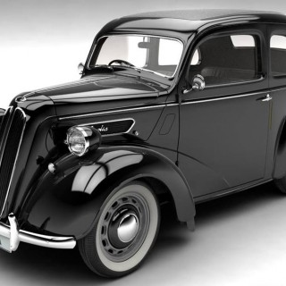 1949 Ford Anglia received a facelift late in 1948