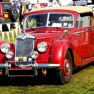 1949 Riley RMD drophead coupe