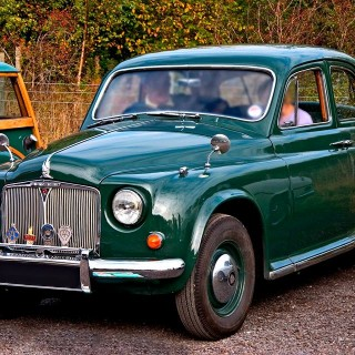 1949 Rover P4 was introduced in September replacing the P3 series