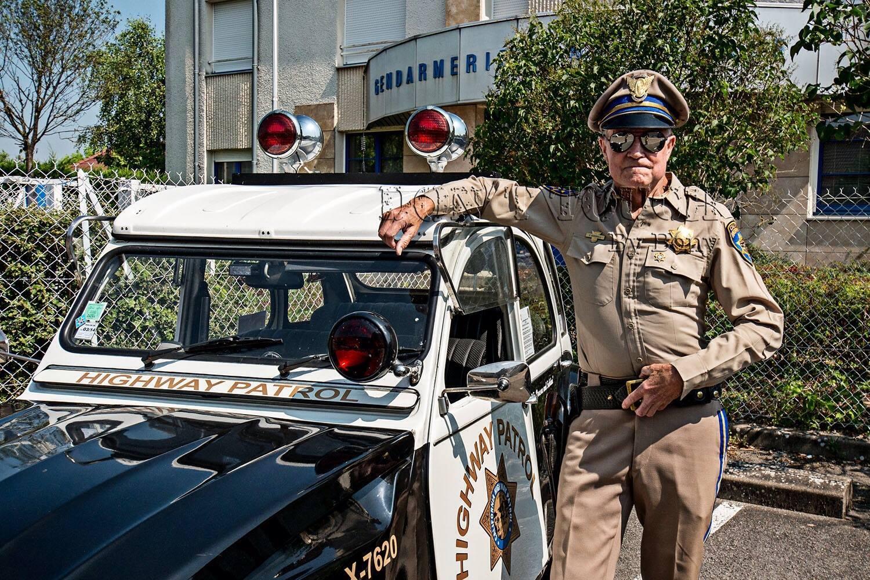Citroen 2cv police