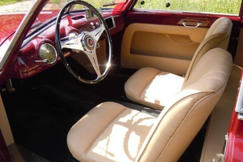 Fiat 1100 Berlinetta Stanguellini 1952 in