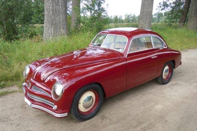 Fiat 1100 Berlinetta Stanguellini 1952