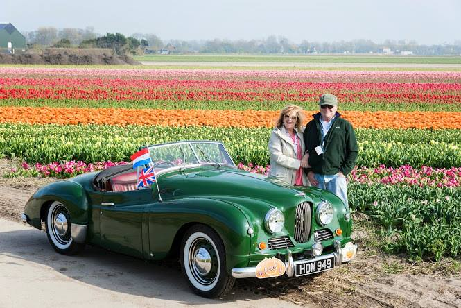 Holland in my 1952 Jowett Jupiter